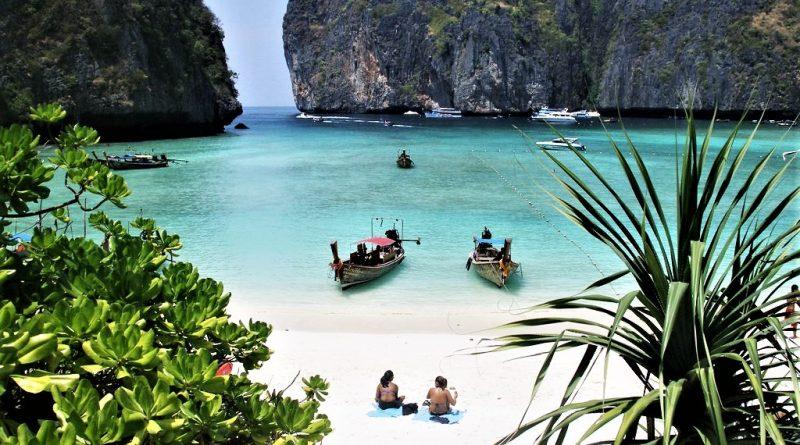 spiaggia Maya Bay