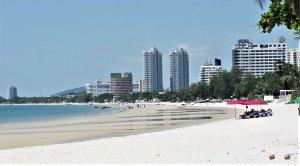 spiaggia e mare hu-hin