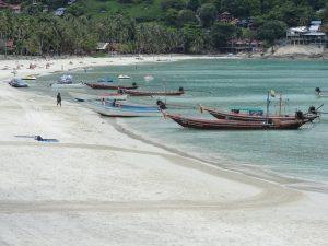 isola Koh Phangan spiaggia Haad Rin