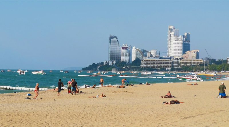 beach pattaya thailandia